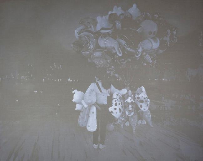 01-Poster-of-Luo-Mingjun-Dust-Solo-Exhibit-at-Pekin-Fine-Arts