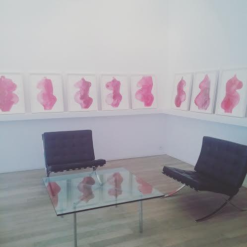 Louise Bourgeois // Les têtes bleus et les femmes rouges // Xavier Hufkens Gallery
