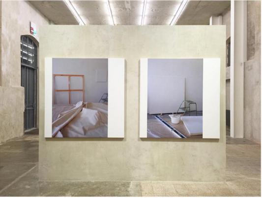 "#IanWALLACE, ""Support Surface"" (2007) @fondazioneprada, #Milan"