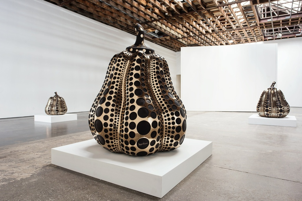 Courtesy of Victoria Miro. Installation View, Yayoi Kusama