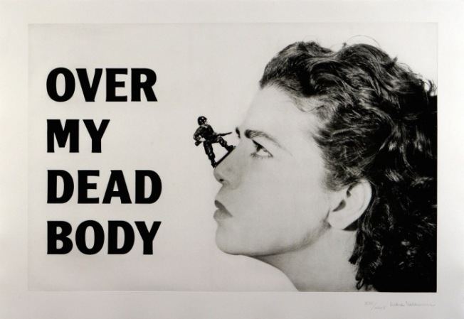Mona Hatoum Over my dead body 1988-2002 © Mona Hatoum. Courtesy White Cube