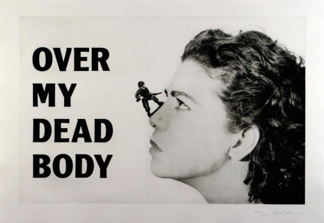 Mona Hatoum Over my dead body 1988-2002 © Mona Hatoum. Courtesy White Cube